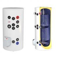 Boiler otel termoelectric cu 2 serpentine vertical ELDOM 1000