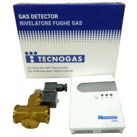 Detector gaz cu electrovalva 3/4 TECNOGAS ITALIA