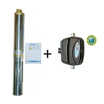 Pompa submersibila PANELLI 95 PR2 N14 cu variator de turatie EPOWER MM