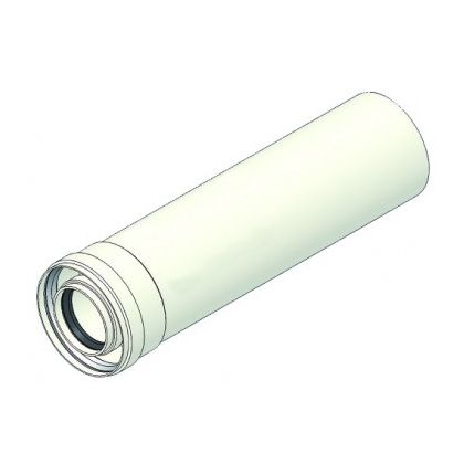 Prelungire kit evacuare centrala termica in condensatie 0,5m 80/125