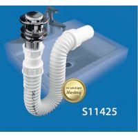 Sifon lavoar flexibil cu ventil click clack alama
